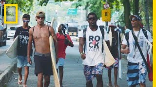 Meet The Surfers Redefining Brazil's Largest Favela | Short Film Showcase