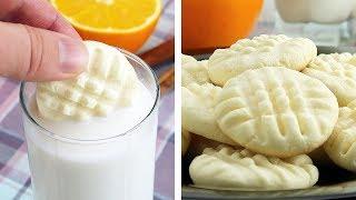 Печенье Без Муки и Яиц за 15 Минут. Печенье к Чаю • Вкусный рецепт