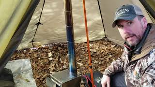 Hot Tent For Winter Camping At Ohio Backpackers Youtube 2019 Meetup