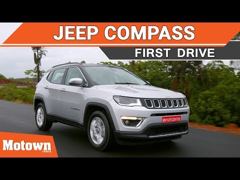 Jeep Compass Limited 4X4 diesel First Drive