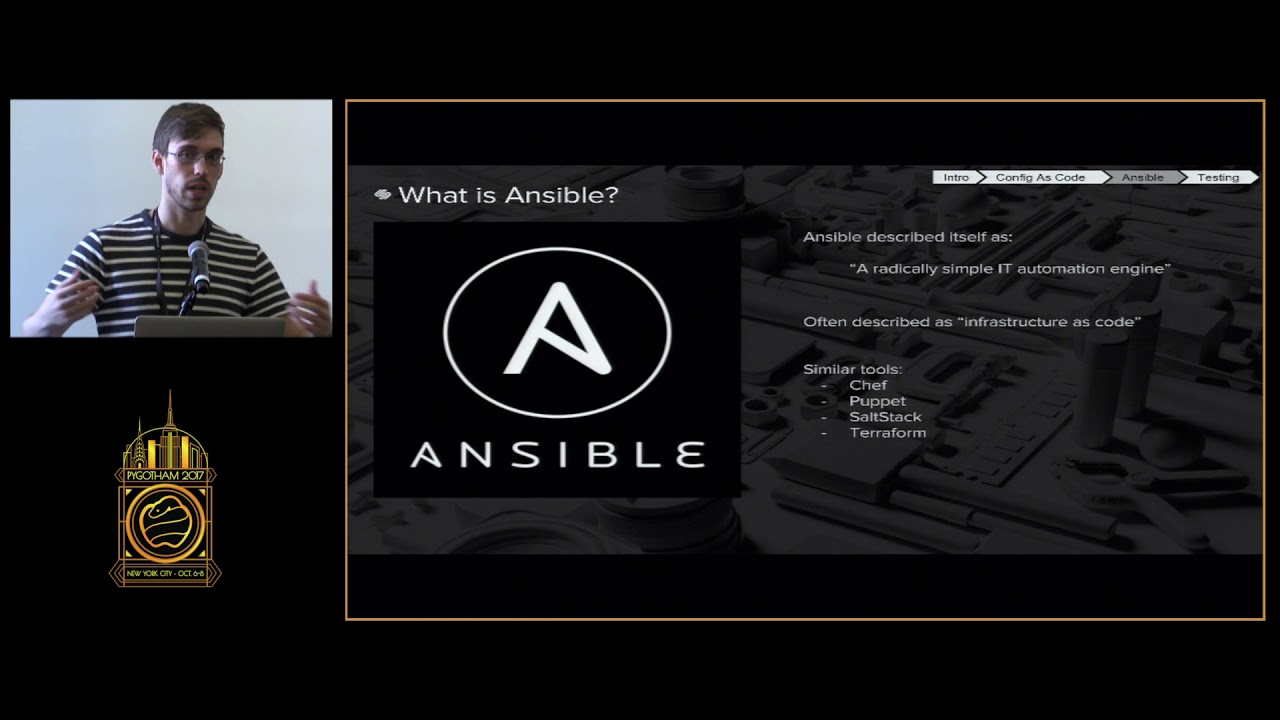 Image from Managing Complexity: Config As Code, Custom Ansible Modules, and You