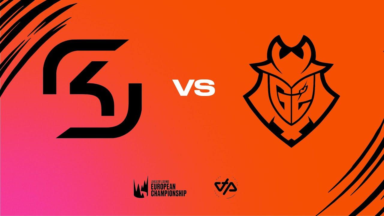LEC Summer Split  - W1D3 - SK vs G2
