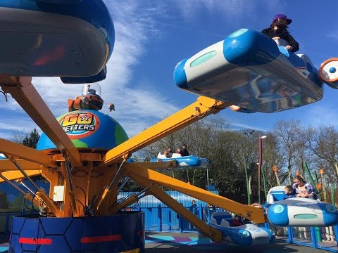 The Go Jetters Vroomster Zoom Ride Hd 60fps Cbeebies Land Alton Towers