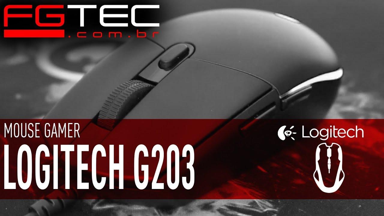 Mouse Logitech G203 Prodigy [PT-BR]