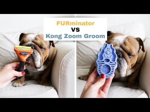 FURminator Vs Kong Zoom Groom | Review