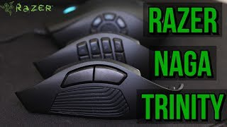 ✅ Razer Naga Trinity Gaming Mouse Review