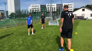 Marcus and Martinus Playing Football with Rosenberg Ballkkub FK at Trondheim