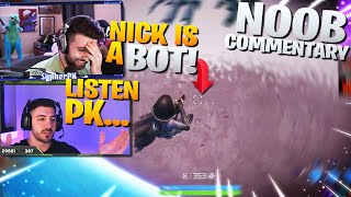 *EXPOSING* Nickmercs as a BOT!! - Noob Commentary (Fortnite Battle Royale)