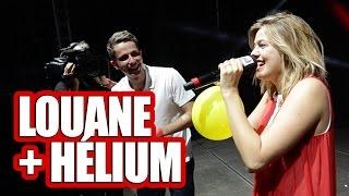 """Louane chante """"jour 1"""" avec de l'hélium devant 20000 personnes !"""