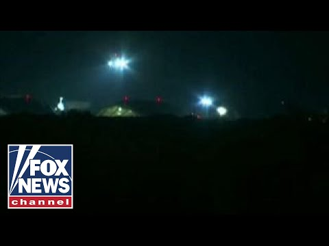 US officials: B-1 bombers used in strikes against Syria