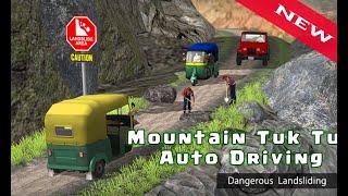 Mountain Auto Tuk Tuk Rickshaw : New Game 2020 Gameplay screenshot 3