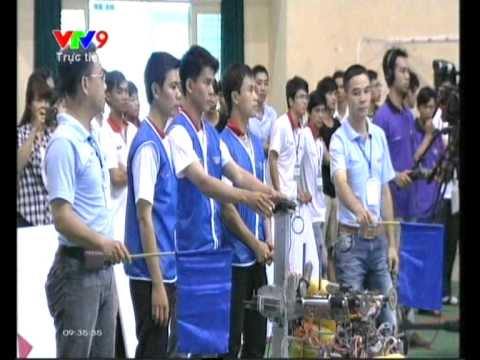 Khai mac robocon Viet Nam 2014 khu vuc phia nam - YouTube