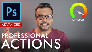 Make Professional Actions in Photoshop (Advanced) - Urdu / Hindi
