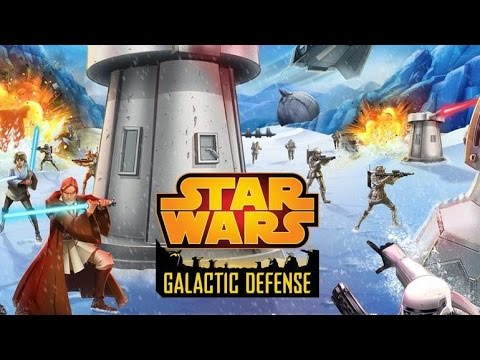Star Wars ™: Galactic Defense Android GamePlay Trailer (HD) [Game For Kids]