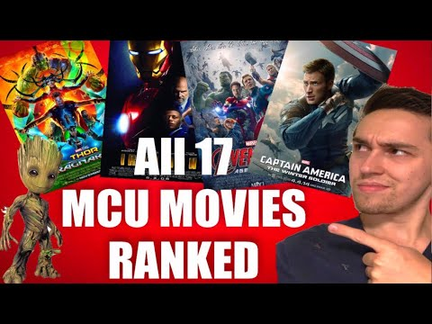 All 17 MCU Movies Ranked Worst To Best ( With Thor: Ragnarok)