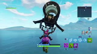 I ARRIVED ON THE SECRET ISLE OF FORTNITE!!!!!