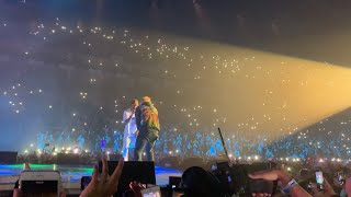Travis Scott brings out Ed Sheeran (ANTISOCIAL LIVE AT LONDON O2 ARENA 16/07/2019 HD)