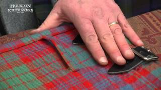 Super Machine Made Understitched Kilts | Houston Kiltmakers Scotland