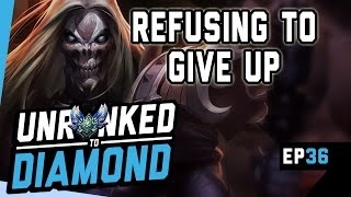 REFUSING TO GIVE UP - Karthus MID Unranked to Diamond Ep 36 (League of Legends)