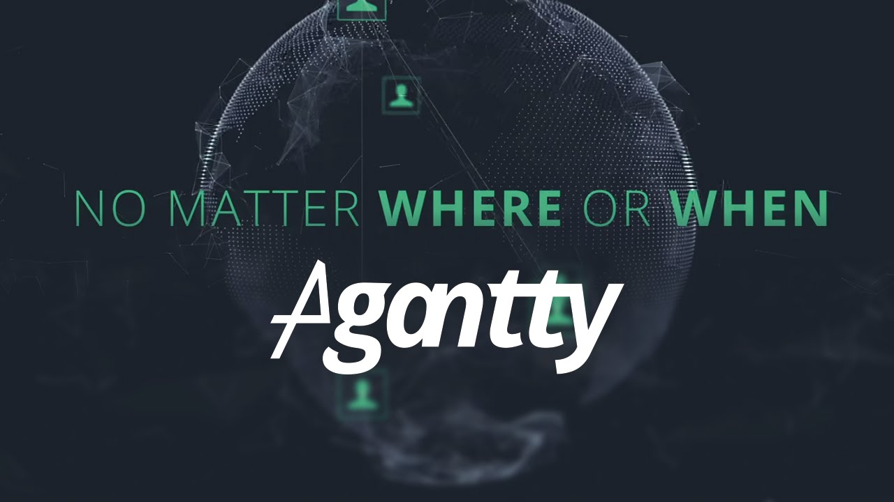 Agantty Free Project Management With Gantt Chart Youtube