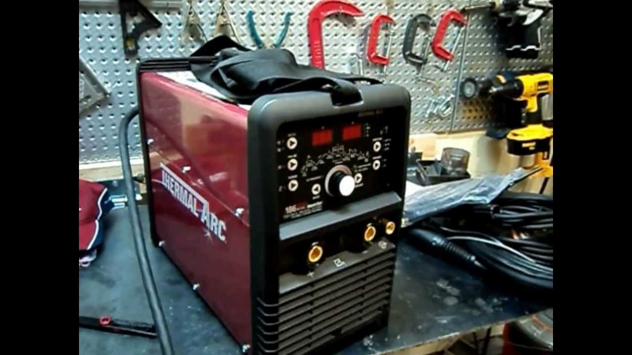 Thermalarc186 Unboxing Ac Dc Tig Stick Welder Inverter