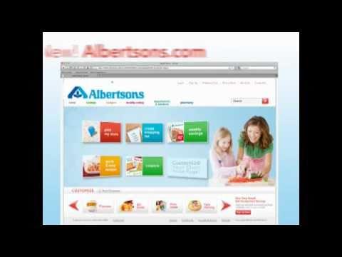 Visit the NEW Albertsons.com!