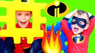Incredibles 2 Jack Jack NO SUPER POWERS & PJ Masks GEKKO TRANSFORMS!