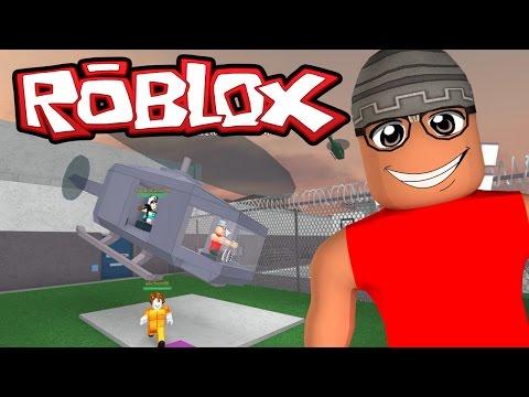 Roblox – Fugindo da Prisão de Helicóptero ( Redwood Prison )
