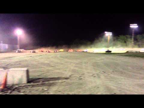 Black Rock Speedway May 17th, 2013: Sportsman Modified Crash and Flip!