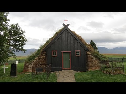 Turf Church Víðimýrarkirkja - Iceland