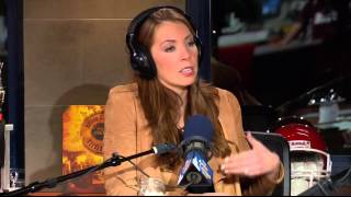 The Artie Lange Show - Maggie Gray (in-studio) Part 2
