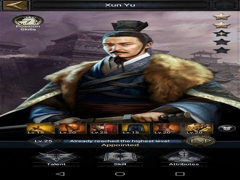 Clash Of Kings - Xun Yu Hero Forge Equipments - Increase March Upper Limit And March Speed 100%