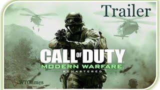 Call of Duty Modern Warfare Remastered Trailer  [E3 2016]