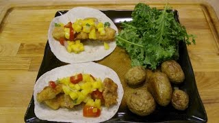 Fish Tacos And Mango Salsa
