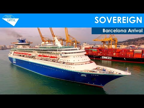 Sovereign arriving in Barcelona (11/06/2016)