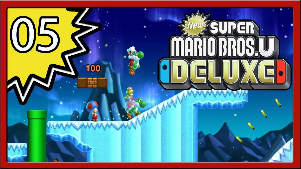 Download : New Super Mario Bros  U Deluxe Part 5 4 Player