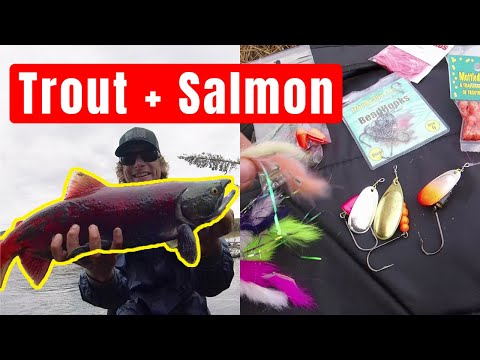 Best Lures For Remote Trout And Salmon Fishing In Alaska