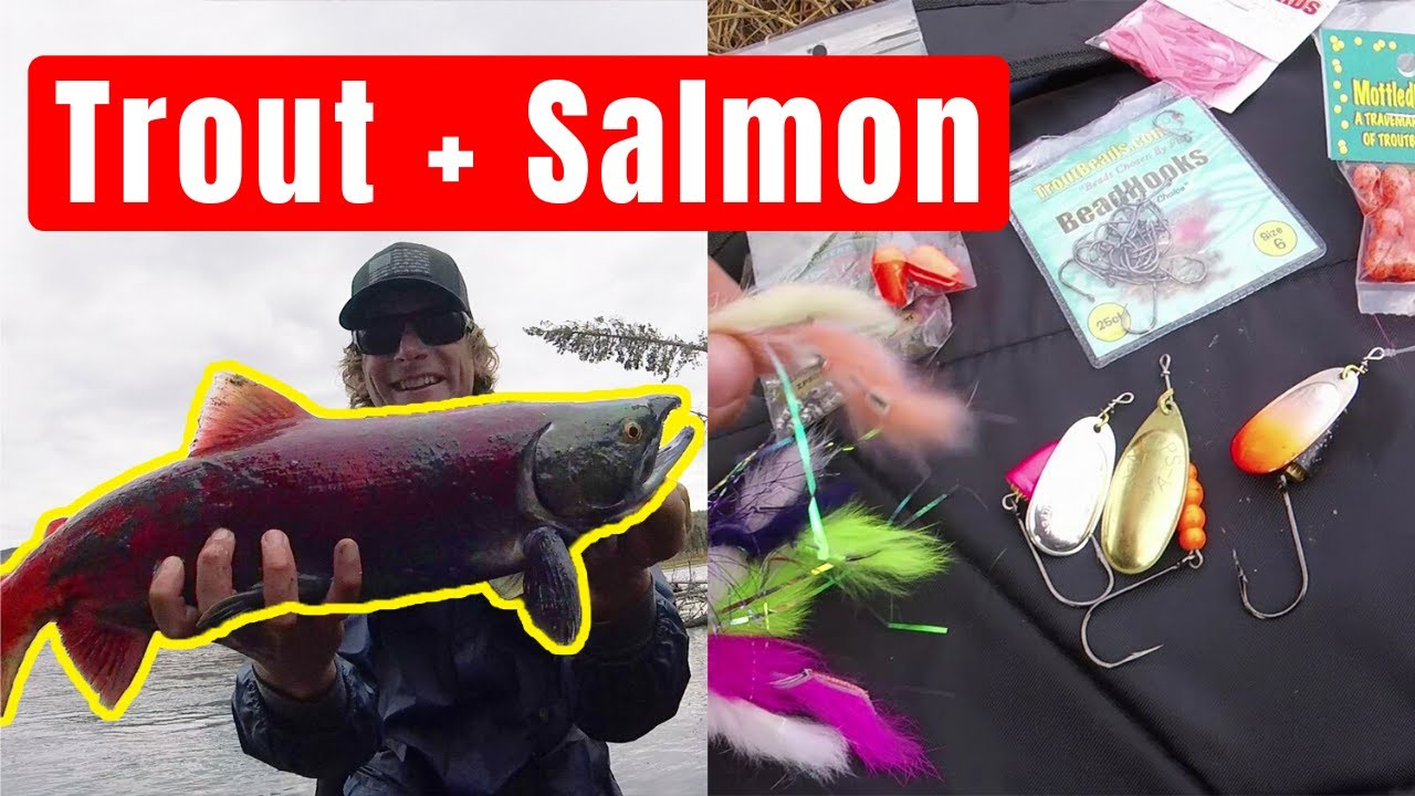 How to Catch Salmon | Best Salmon Lures in 2019 | by Captain
