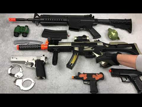 Special Forces Toy Guns Box Of Toys Airsoft Rifle