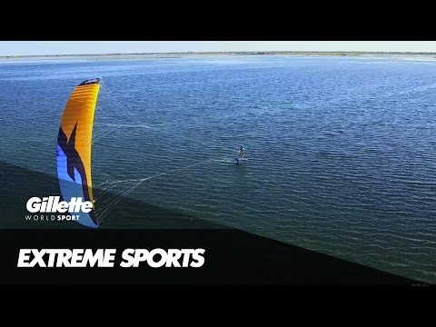 Breaking the Kitespeed World Record with Alex Caizergues | Gillette World Sport