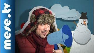 Iszkiri Zenekar - Lajos a hóember (gyerekdal) | MESE TV