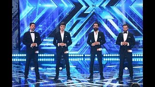"Aurelian Andreescu - ""Copacul"". Vezi interpretarea trupei Ad Libitum Voices, la X Factor!"