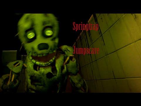 Springtrap jumpscare animation fnaf 3 youtube