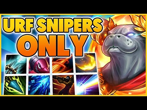 3 HOURS OF THE BEST SNIPERS IN URF (URF MOVIE 15) - BunnyFuFuu   League Of Legends
