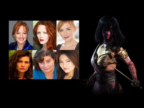 Comparing The Voices  Mileena
