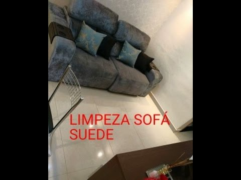 Como Limpar Sofa De Suede Youtube