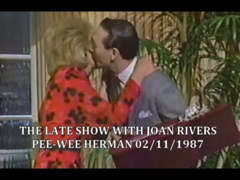 Pee Wee Herman - The Late Show Starring Joan Rivers 02/11/1987