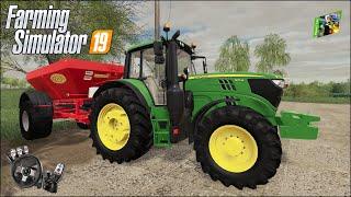Farming Simulator 19 - Рассвет - 36 - Вносим твердые удобрения