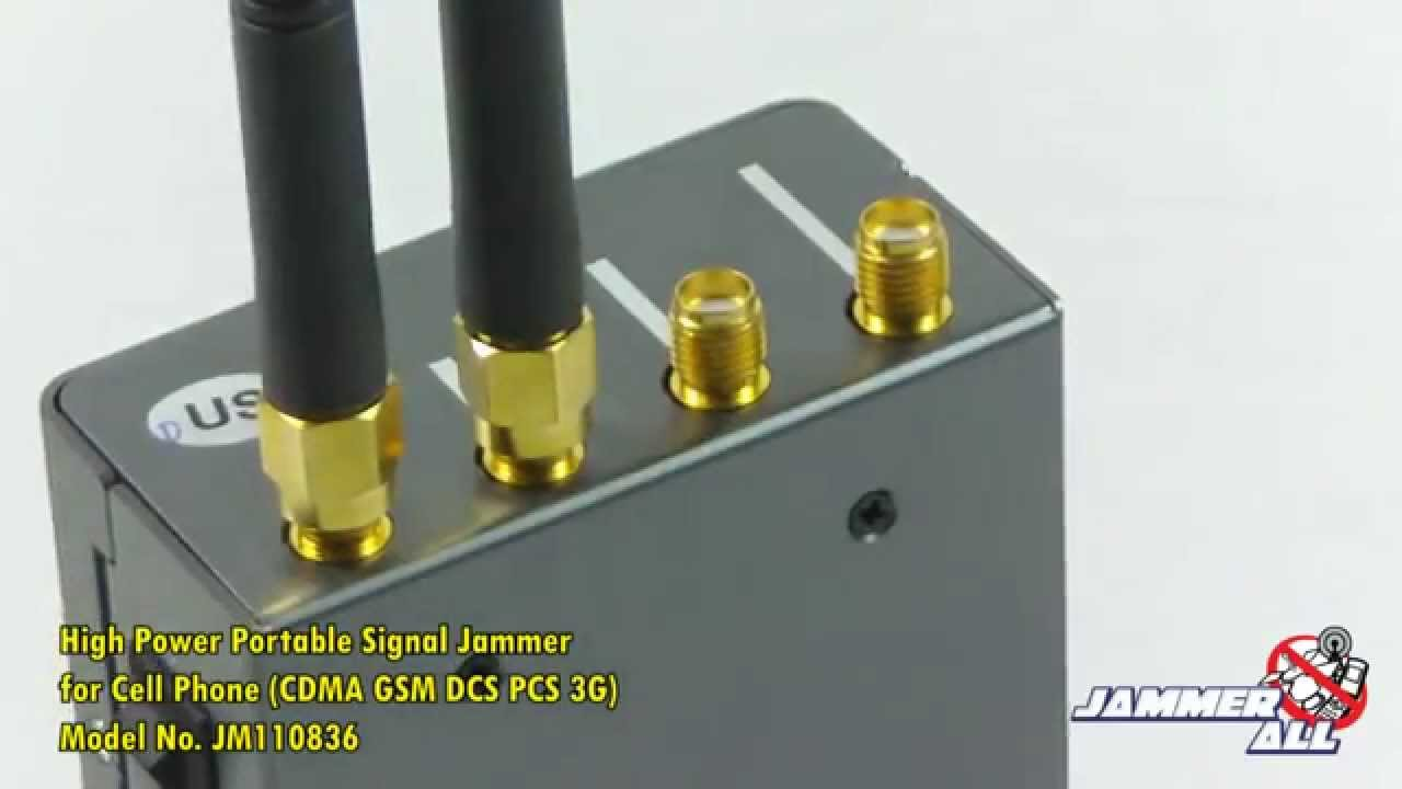 Cell phone jammer | phone jammer schematic for time travel