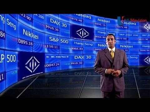 US Television - Dubai Wall (Dubai International Financial Centre)
